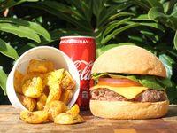 Combo hamburguesa Clásica