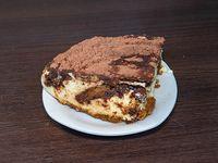 Porción De Torta Tiramisu