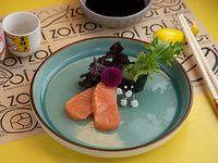 Sashimis de salmón (2 unidades)