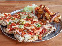 Pizzanesa Carne Napolitanapara - Comen 3 Pers