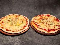 Promo Unión - 2 Pizzas caseras 30cm solo muzza