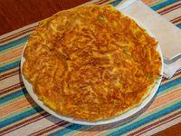 Omelette con carne