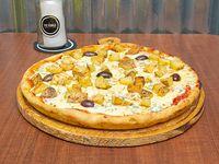 Pizza con papa y romero