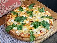 Pizza con queso de cabra y rúcula (32 cm)