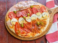 Picada de pizza 4 gustos
