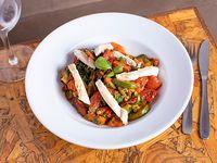 Wok de vegetales y pollo