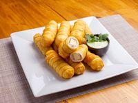 Promoción - 12 Tequeños de queso y panceta