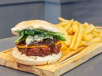 Burger Estambul con guarnición 200 g