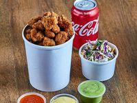 Combo Popcorn Chicken + Papas Fritas + Soda