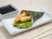 Temaki camaron tempura