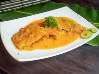 Cachama de Río en Salsa Criolla