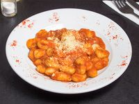 Gnoquis con salsa pomodoro