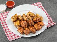 Pack 15 wing + 3 salsas + aderezos