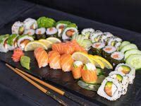 Tabla de salmón premium (30 piezas)