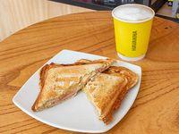 Combo - Café con leche 9 oz + sellado