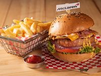 Mac laren burger