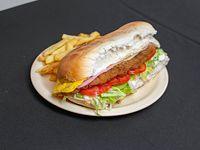Sándwich de milanesa L (20 cm)