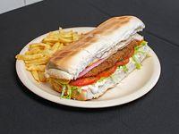 Sándwich de milanesa XL (28 cm)