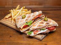 Sándwich de lomo simple