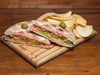Sándwich tostado A Pleno