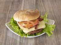 Hamburguesa con Carne Artesanal