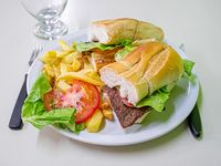 Sándwich de cuadril