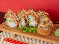 Hot shrimp roll (12 piezas)