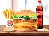 Combo Big King de pollo original