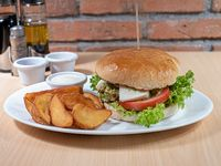 Sándwich vegeteriano