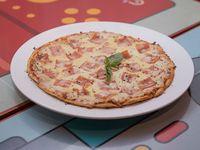 Pizzeta Jamón y Queso