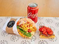 Promo Cookie - Waffle salado o dulce + cookie + bebida