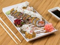 Dragon special roll (10 unidades)