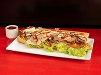 Sándwich de Pernil