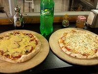 Promo - 2 pizzas aro 16 + bebida 1.5 L