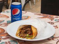 Promo I - Shawarma + gaseosa lata 354 ml