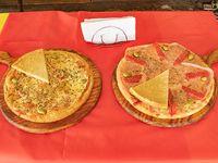 Promo 4 - Pizza muzzarella + pizza especial