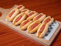 Combo - Mini hot dog (10 unidades)