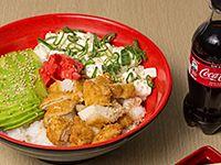 1. Gohan pollo furay + bebida lata 250 ml