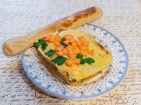 Pastel de papas  + Pan Caserito