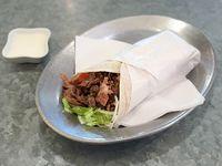 Burrito shawarma (super rico)