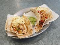 Tacos de pollo (2 unidades)