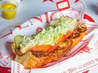 Malibú hot dog