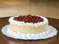 Cheesecake de fresa (10 - 15 personas)