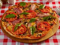 Pizza familiar italiana