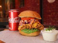 Combo Spicy Cajun Chicken Sándwich
