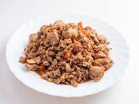 Carne de soja braseado