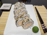 Salmón cocido roll (10 piezas)