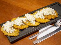 Ración mini patacón queso (5 unidades)