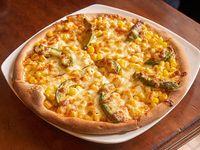Pizza individual + 5 panes de ajo + bebida 250 ml