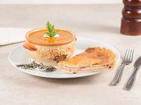 Combo 2 - Sopa crema de verdura + porción de tarta